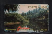 Phonecard Telephone card D18 St.Kitts  #260